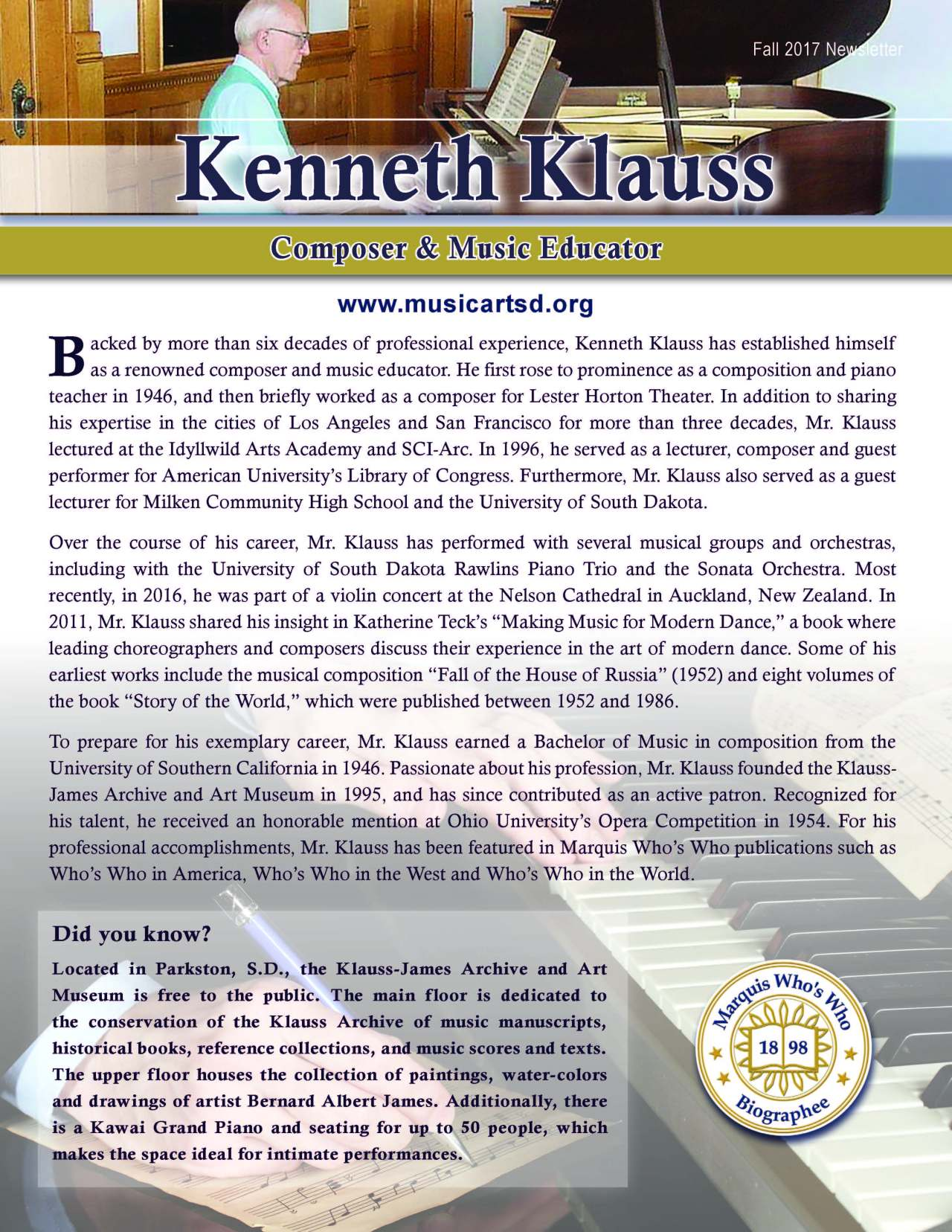 Klauss, Kenneth 2131776_26696500 Newsletter.jpg