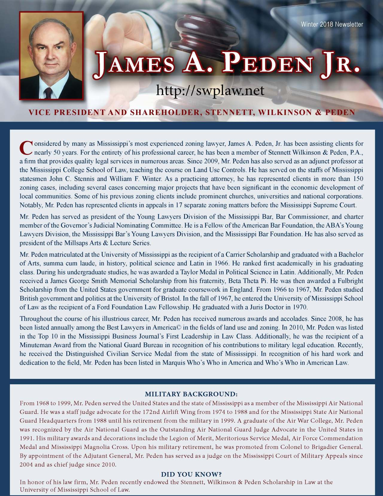 Peden, James 3681221_16911505 Newsletter REVISED.jpg