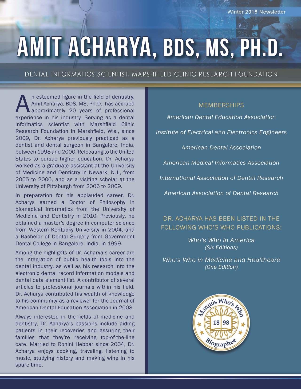 Acharya, Amit 3628961_35009733 Newsletter