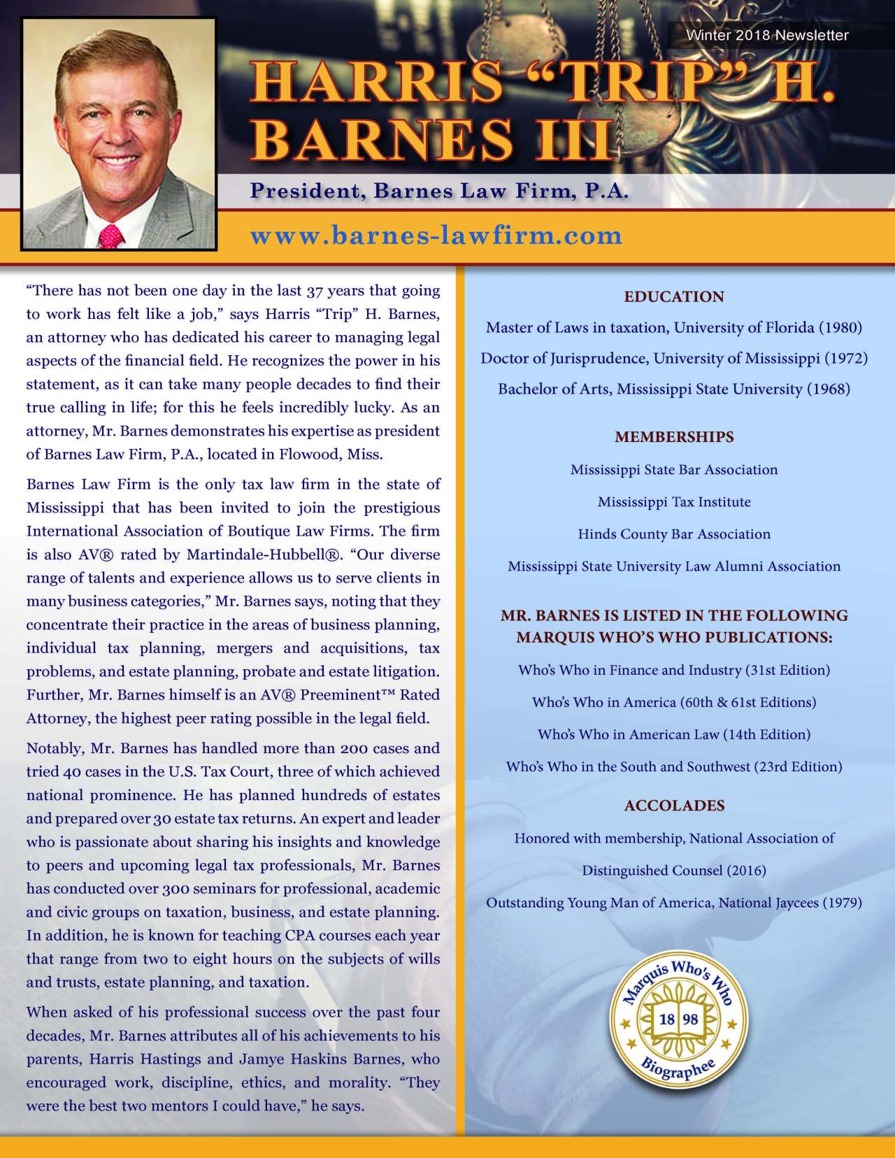 Barnes, Harris 3681896_21149852 Newsletter