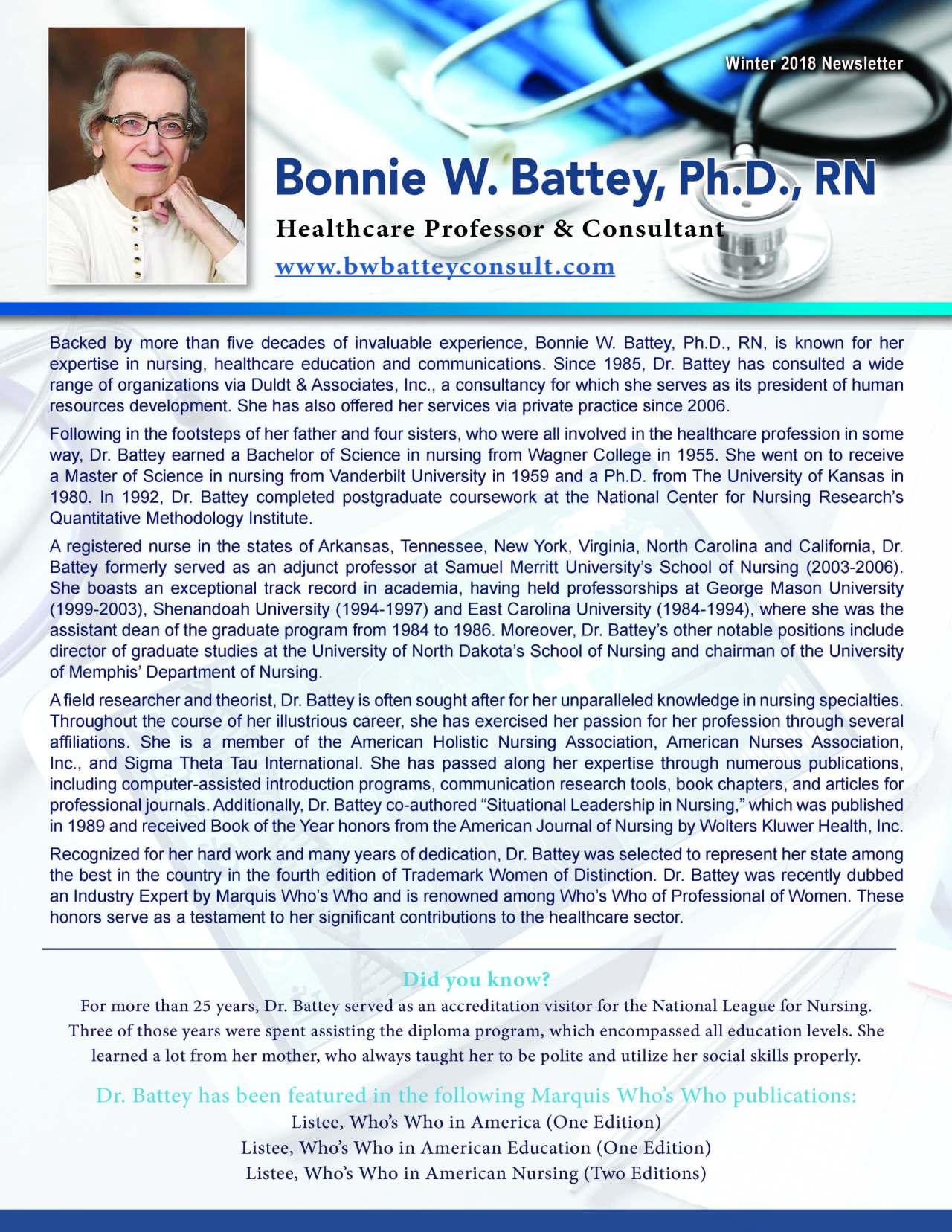 Battey, Bonnie 2189314_19278720 Newsletter