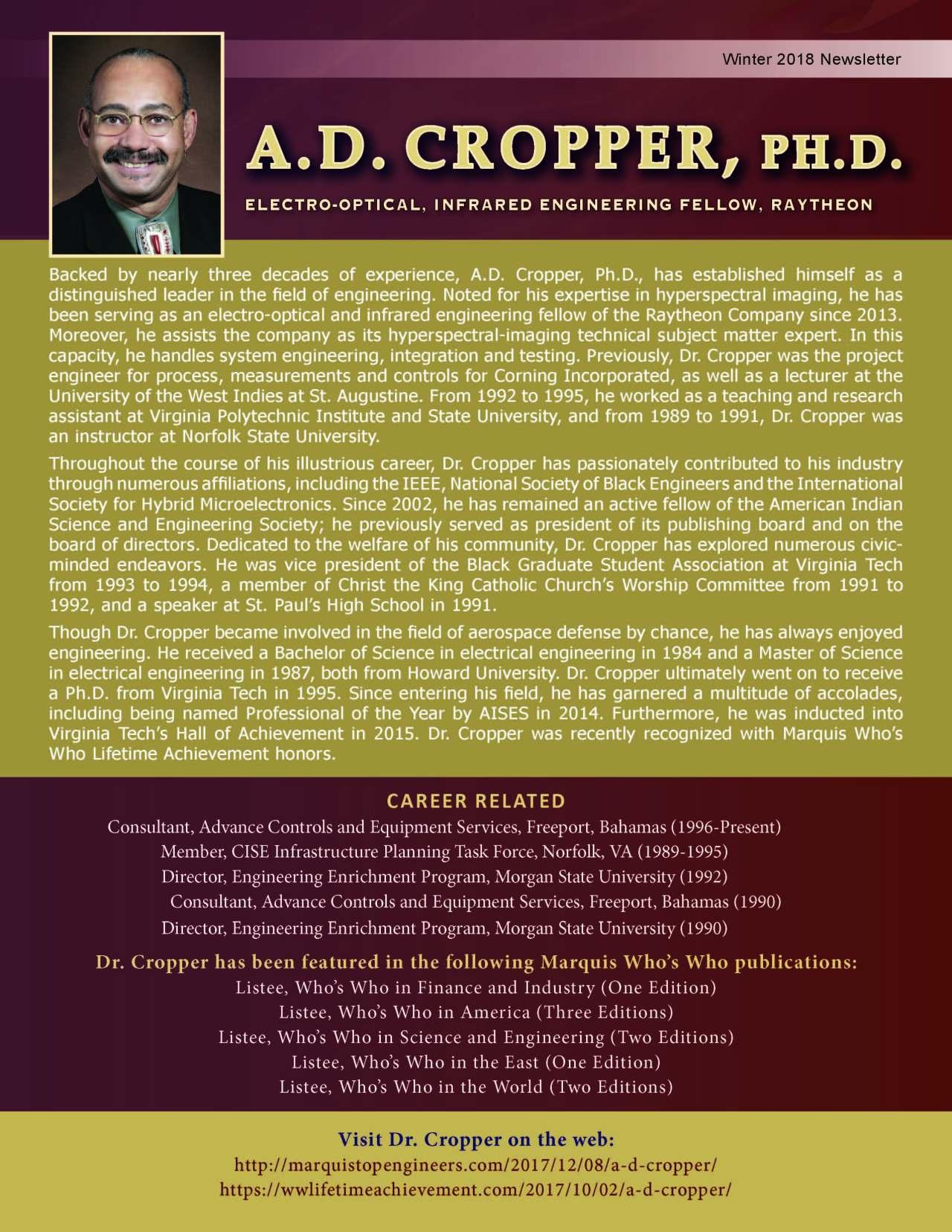 Cropper, Andre 3690035_22884457 Newsletter
