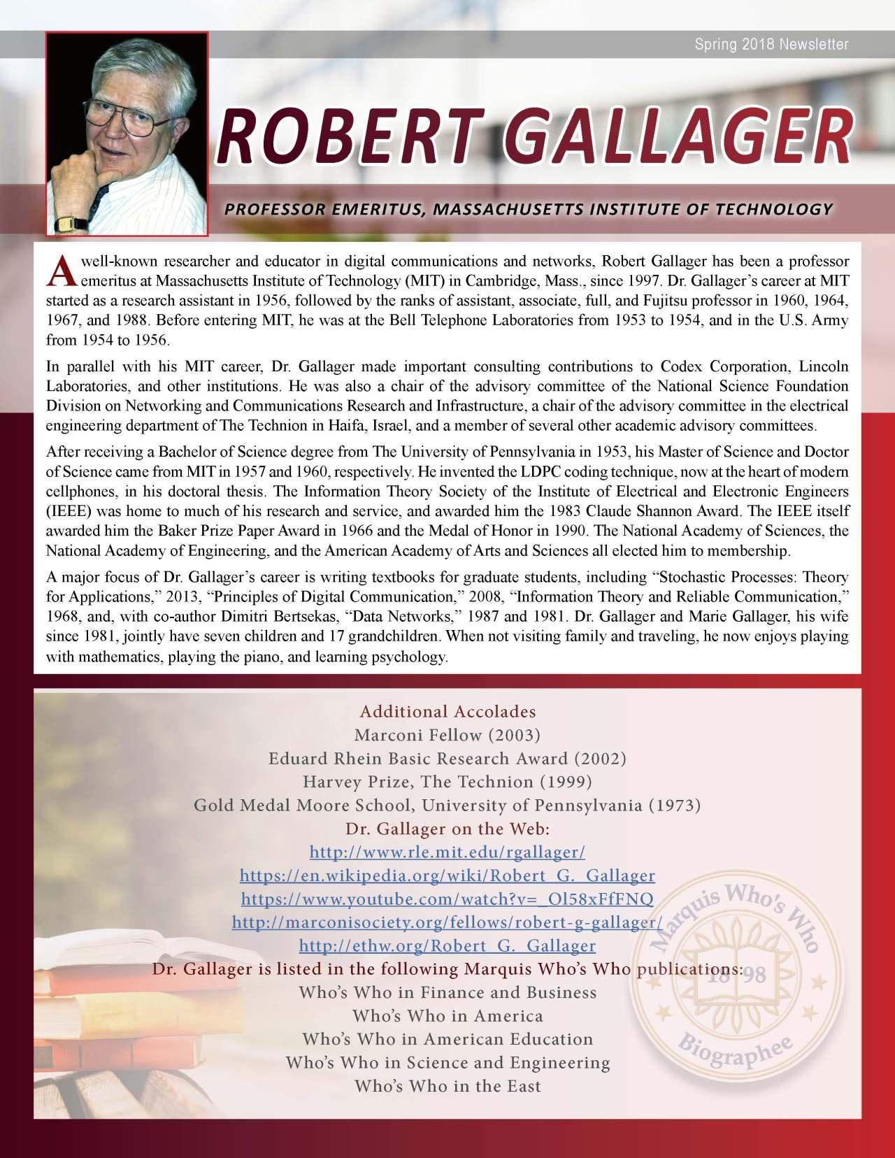 Gallager, Robert 3719036_3825155 Newsletter REVISED.jpg