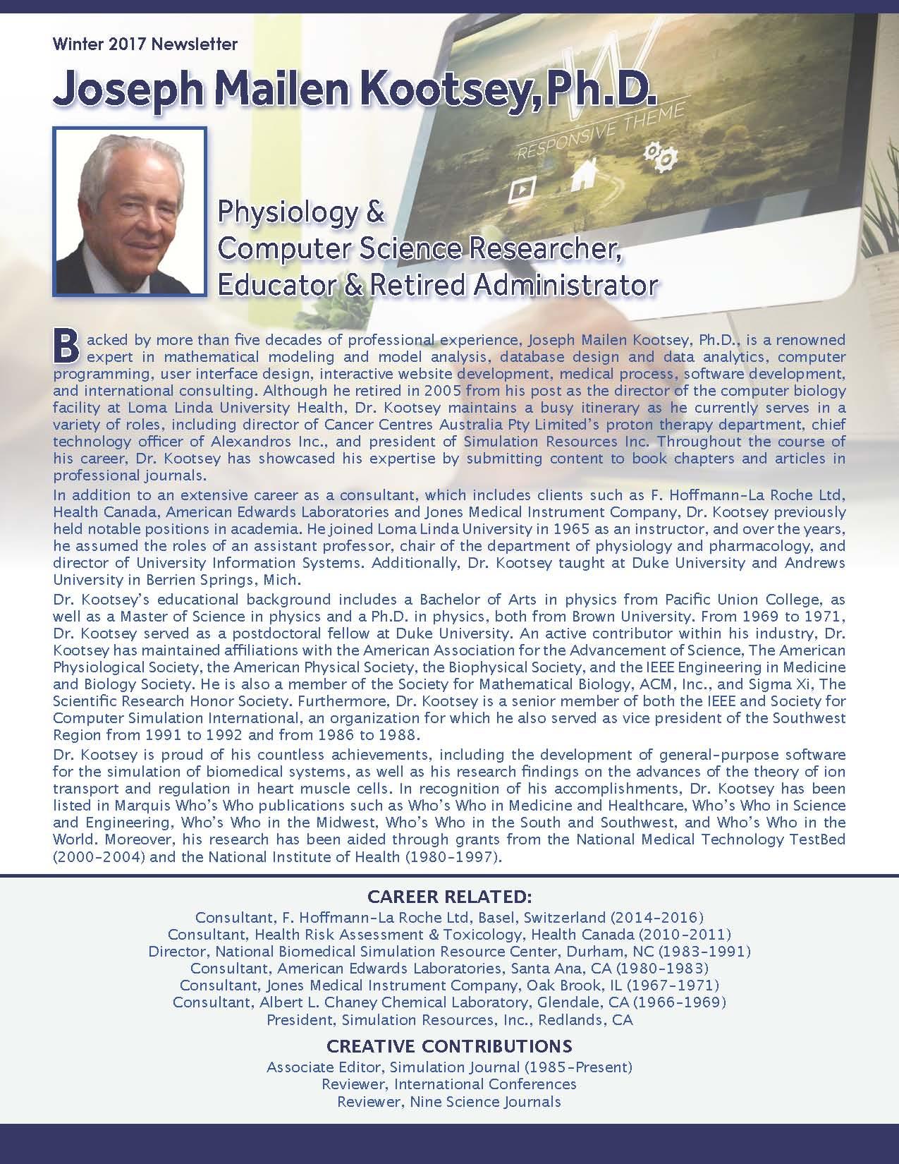 Kootsey, Joseph 3645072_15409816 Newsletter