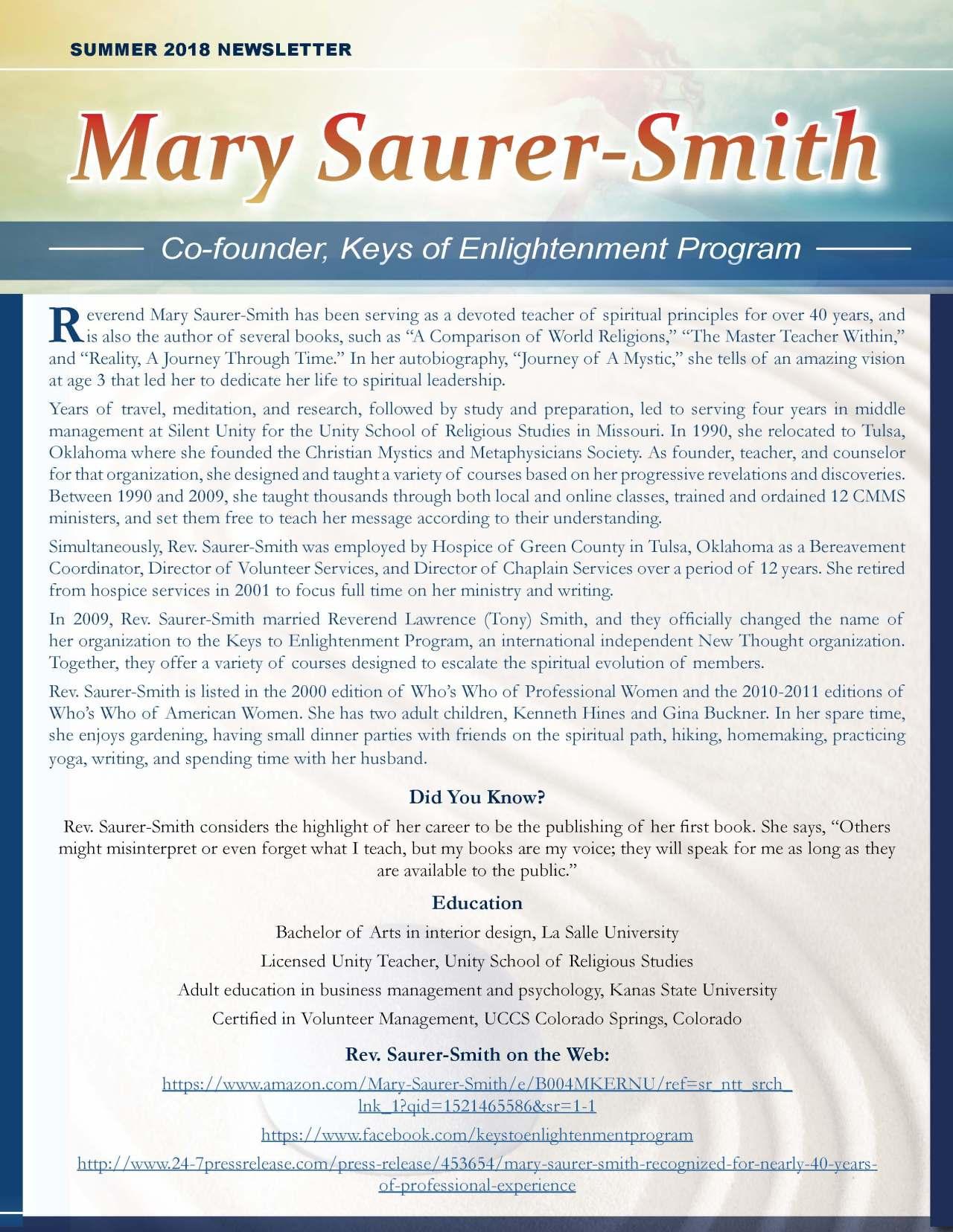 Saurer-Smith, Mary 3894818_31374174 Newsletter REVISED.jpg