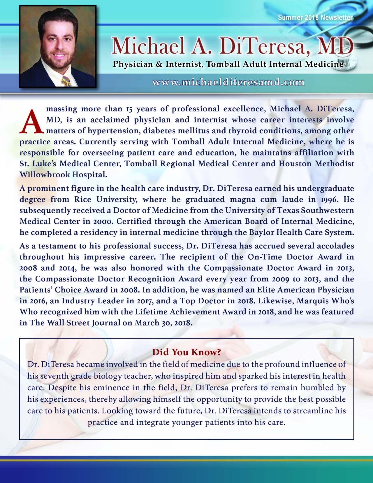 DiTeresa, Michael 1873071_40004079 Newsletter