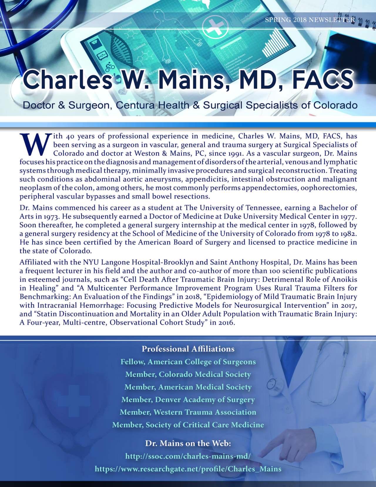Charles W. Mains
