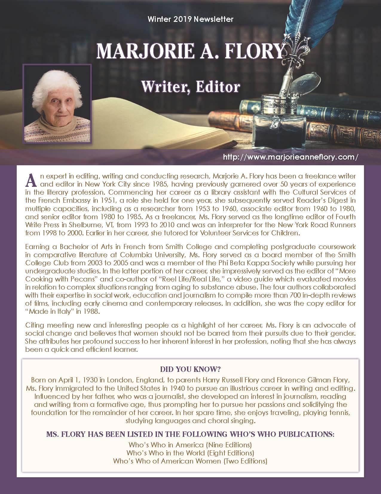 Flory, Marjorie 2132088_32778336 Newsletter.jpg