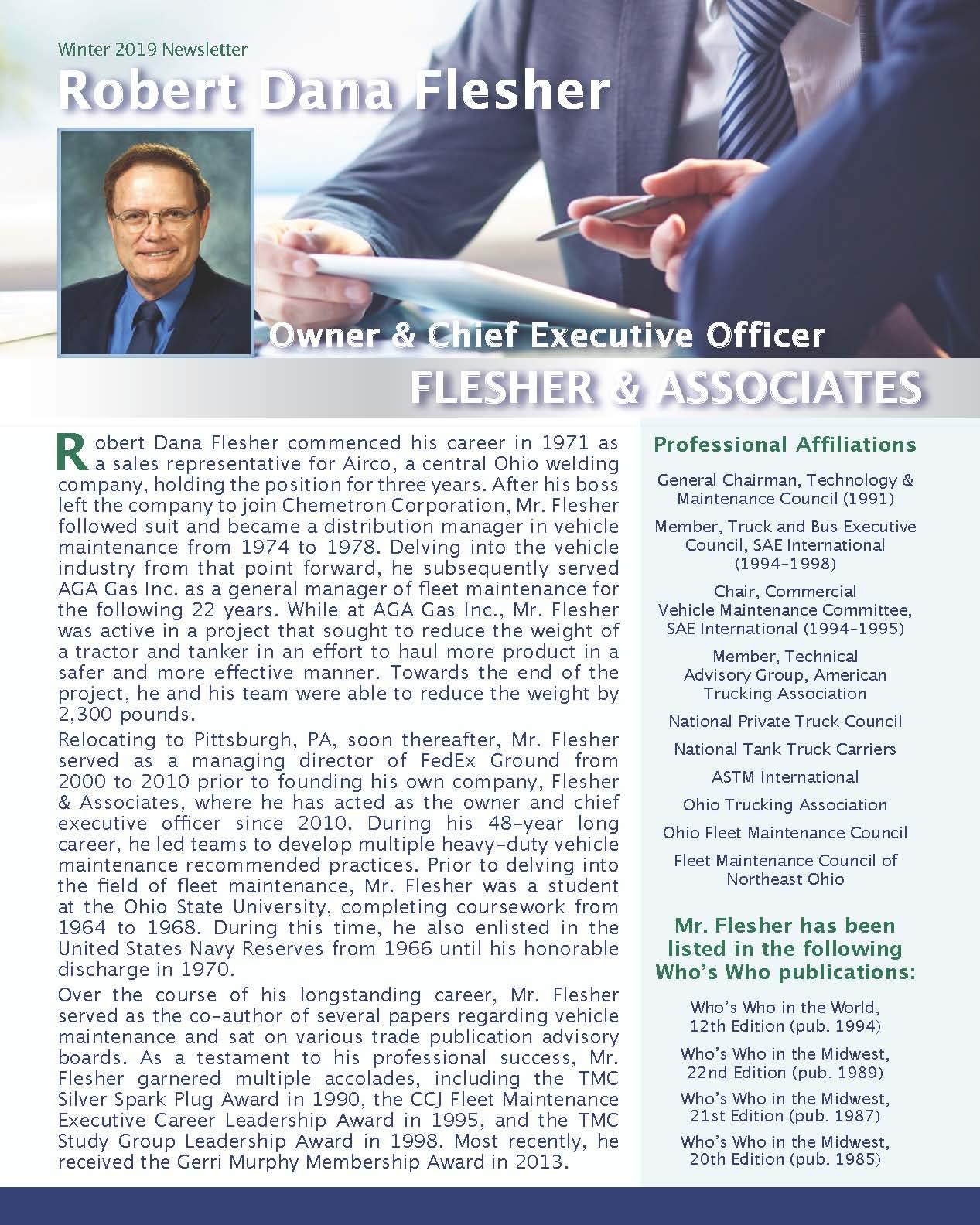 Flesher, Robert 4150125_656229 Newsletter