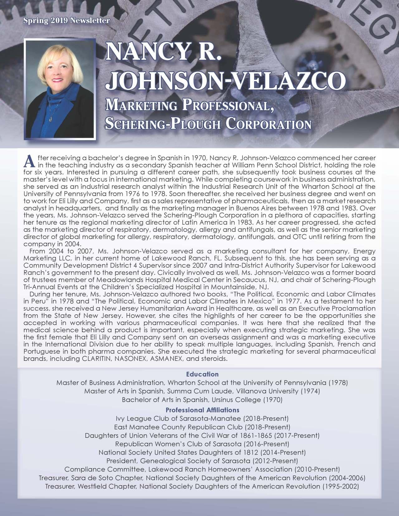 JohnsonVelazco, Nancy 4238958_27634120 Newsletter REVISED