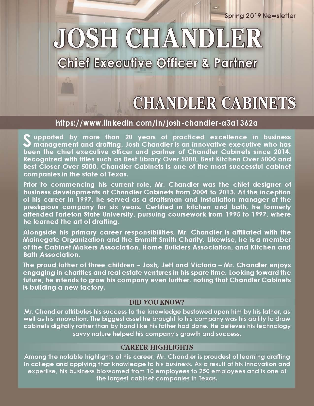 Chandler, Josh 4420875_20339738 Newsletter