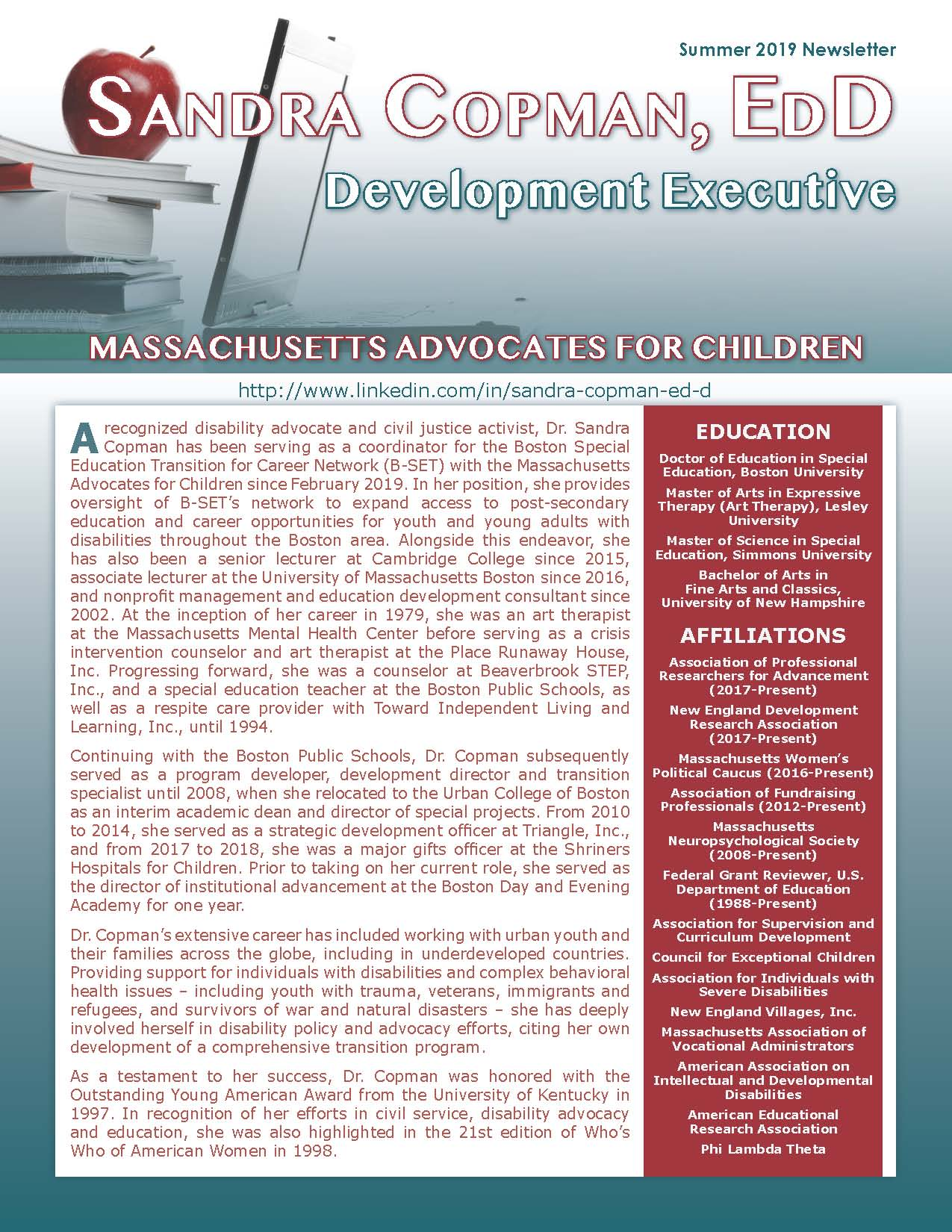 Copman, Sandra 4299373_27336163 Newsletter