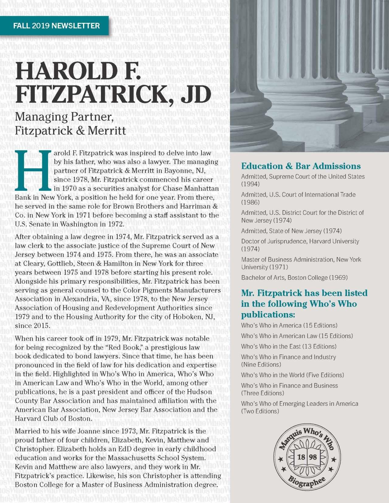 Fitzpatrick, Harold 4228598_412571 Newsletter REVISED