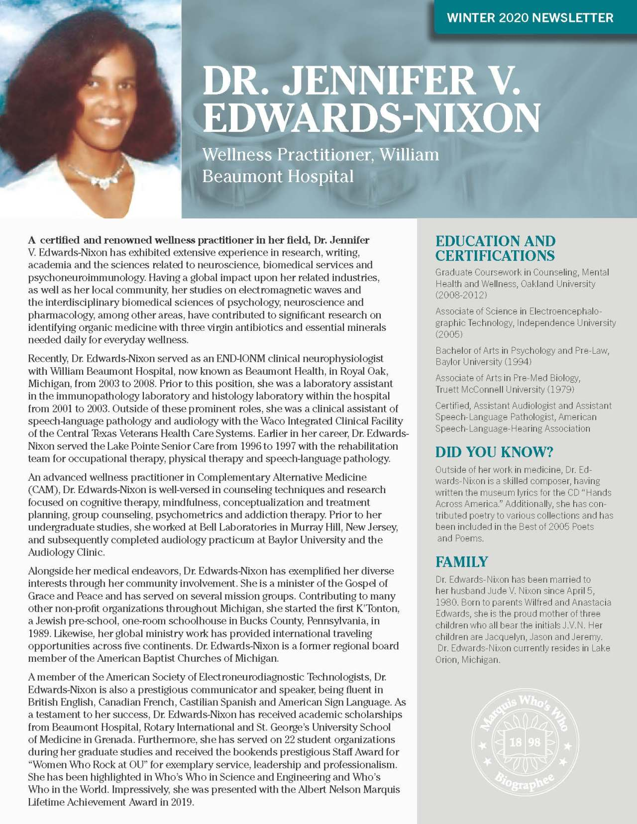 Edwards-Nixon, Jennifer 4294406_31954530 Newsletter
