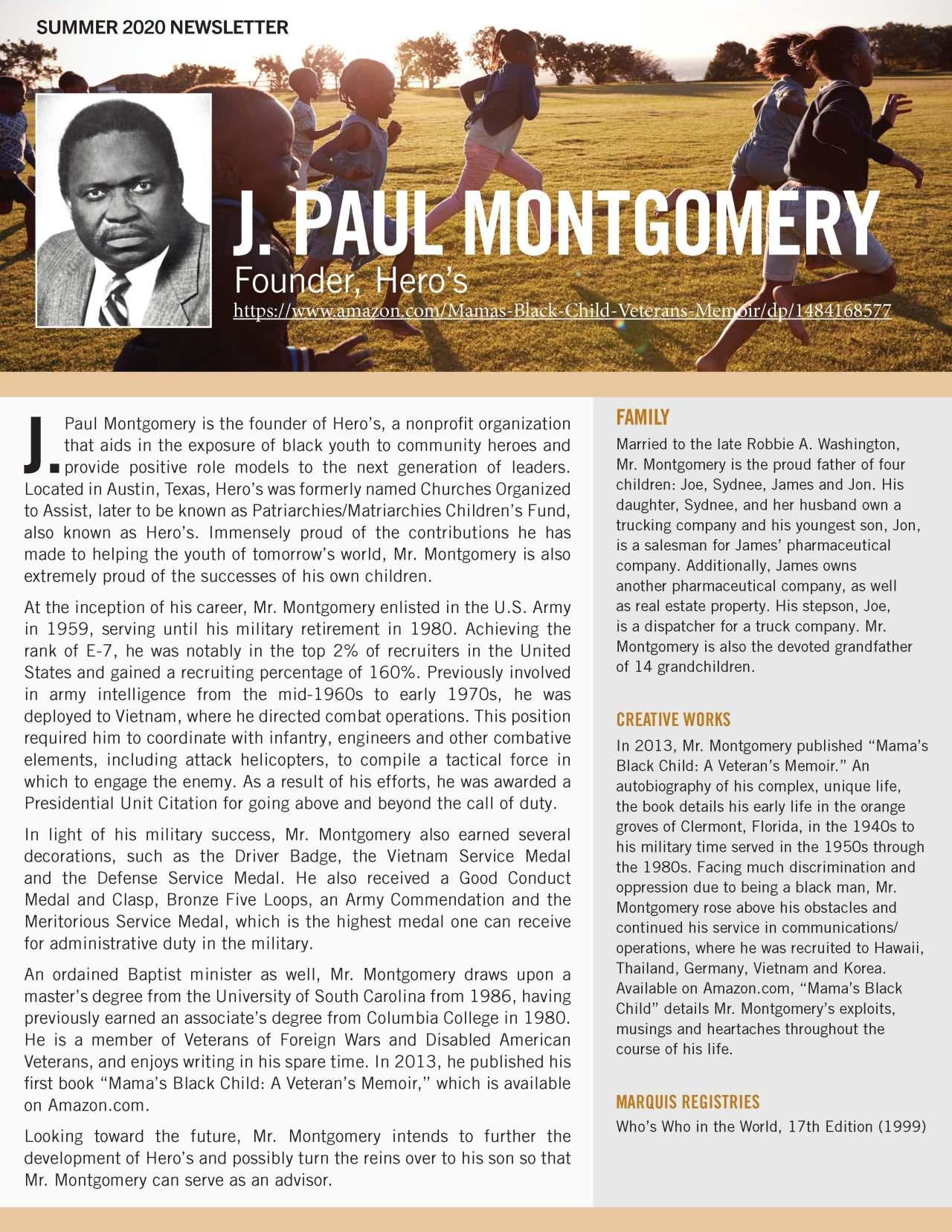 Montgomery, J. Paul 4783979_28164622 Newsletter