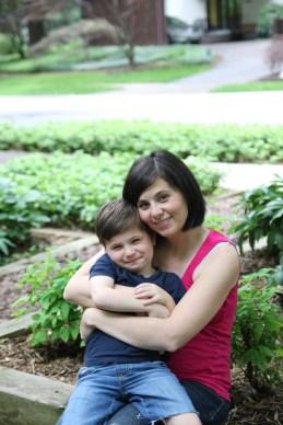 Rhea and oldest son Leo (4)