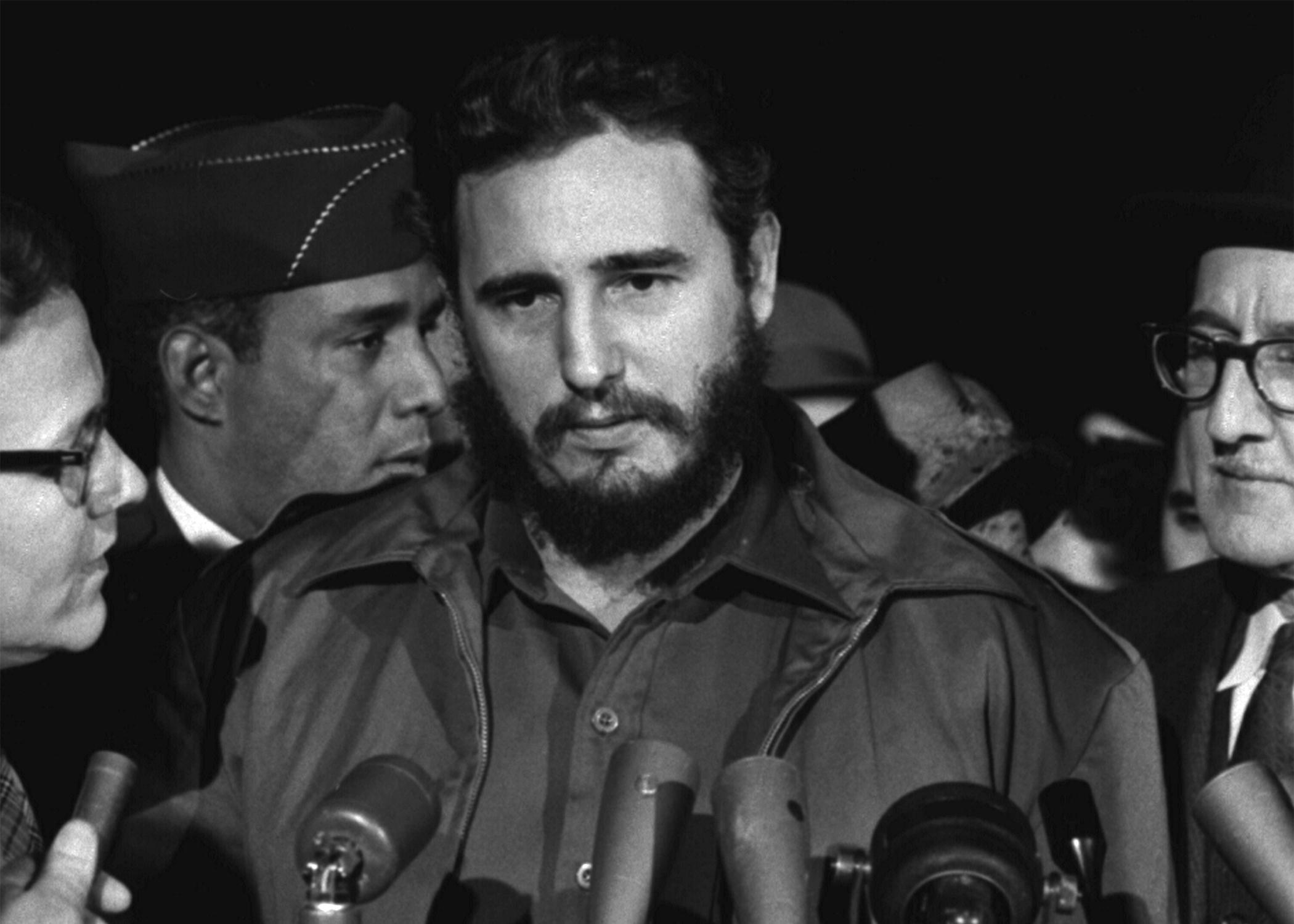 Fidel Castro Photo credit: Library of Congress / Wikimedia