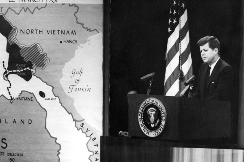 Image result for PRE. jfk with viet nam 1963