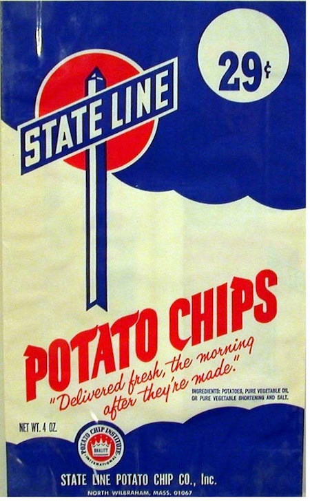 The State Line company was the main buyer of potatoes from Albert Farm in Worthington.