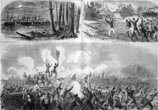 The Battle of New Bern.