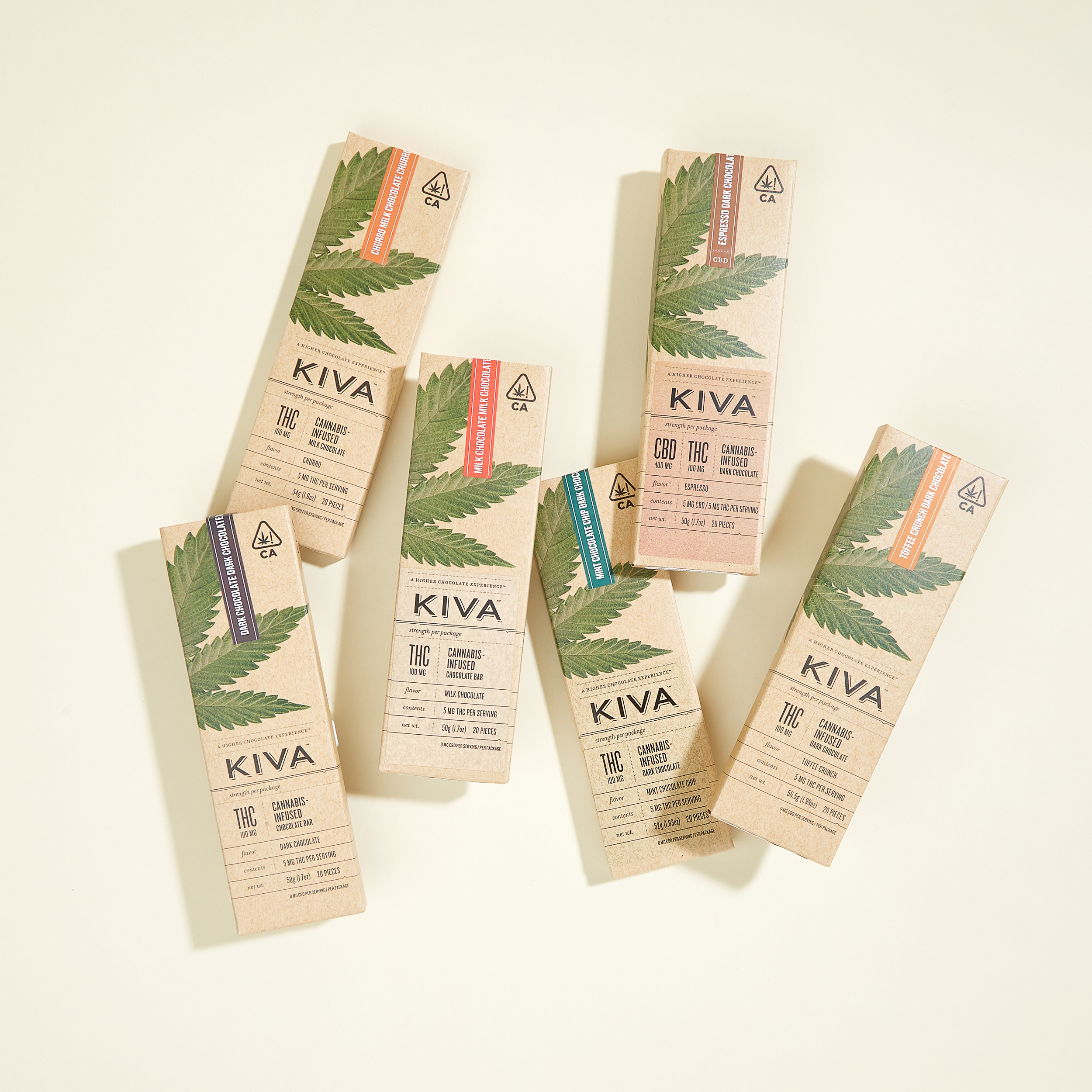 KIVA Cannabis Infused Chocolate