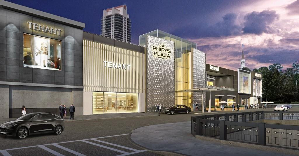 Rendering Phipps Plaza Slated For Major Exterior