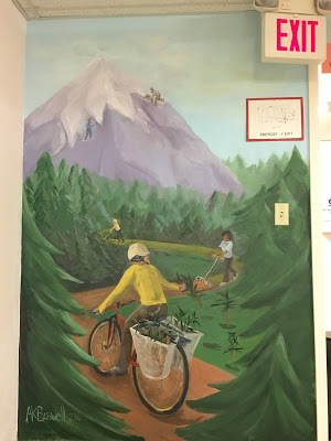 Mural at the Library