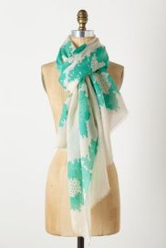 Blooms scarf