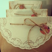 Doily Favor Bag
