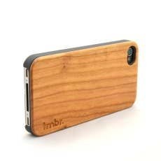 cherry wood iphone case etsy
