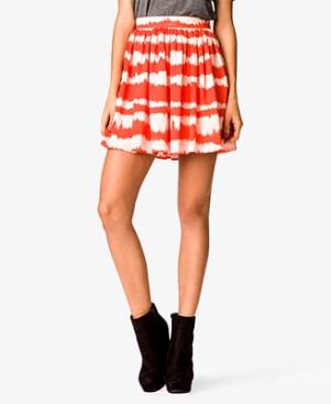 Forever 21 Tie Dye Skirt