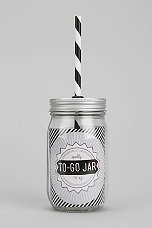 Mason Jar to Go Lid