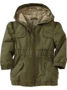 Old Navy Hooded Canvas Jacket Toddler