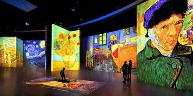 Image result for van gogh alive exhibit