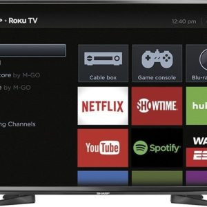 Sharp 43″ Class LED 1080p Smart HDTV Roku TV