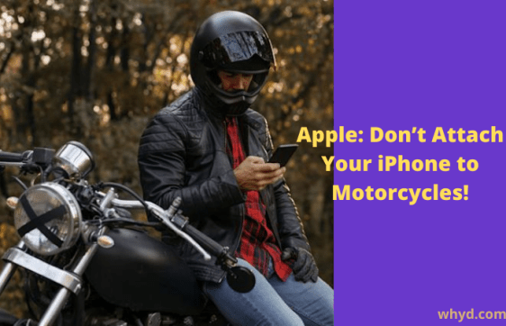 iPhone to the Motorcycle