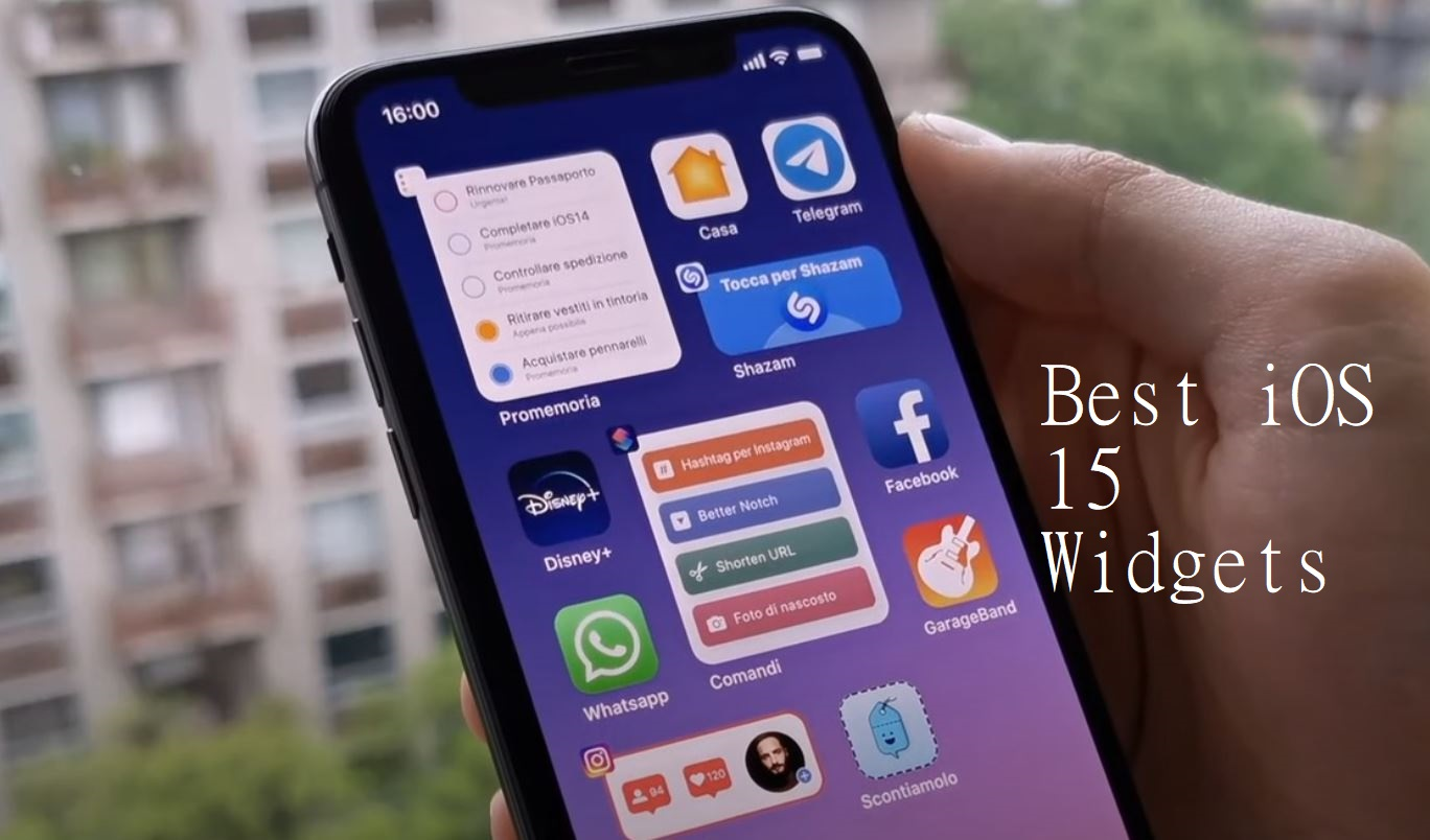 Best Widgets IOS 15