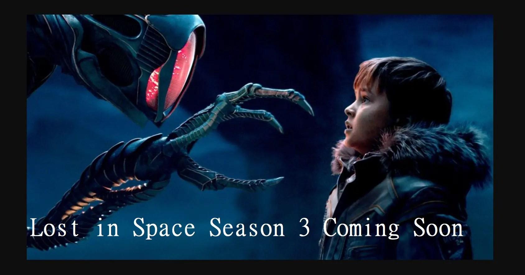 Lost in Space Season 3 Netflix 2021