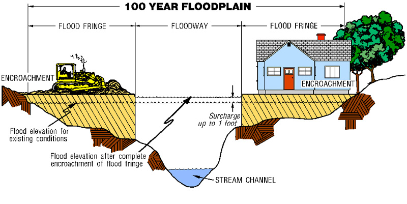 100 Year Flood Zone Map