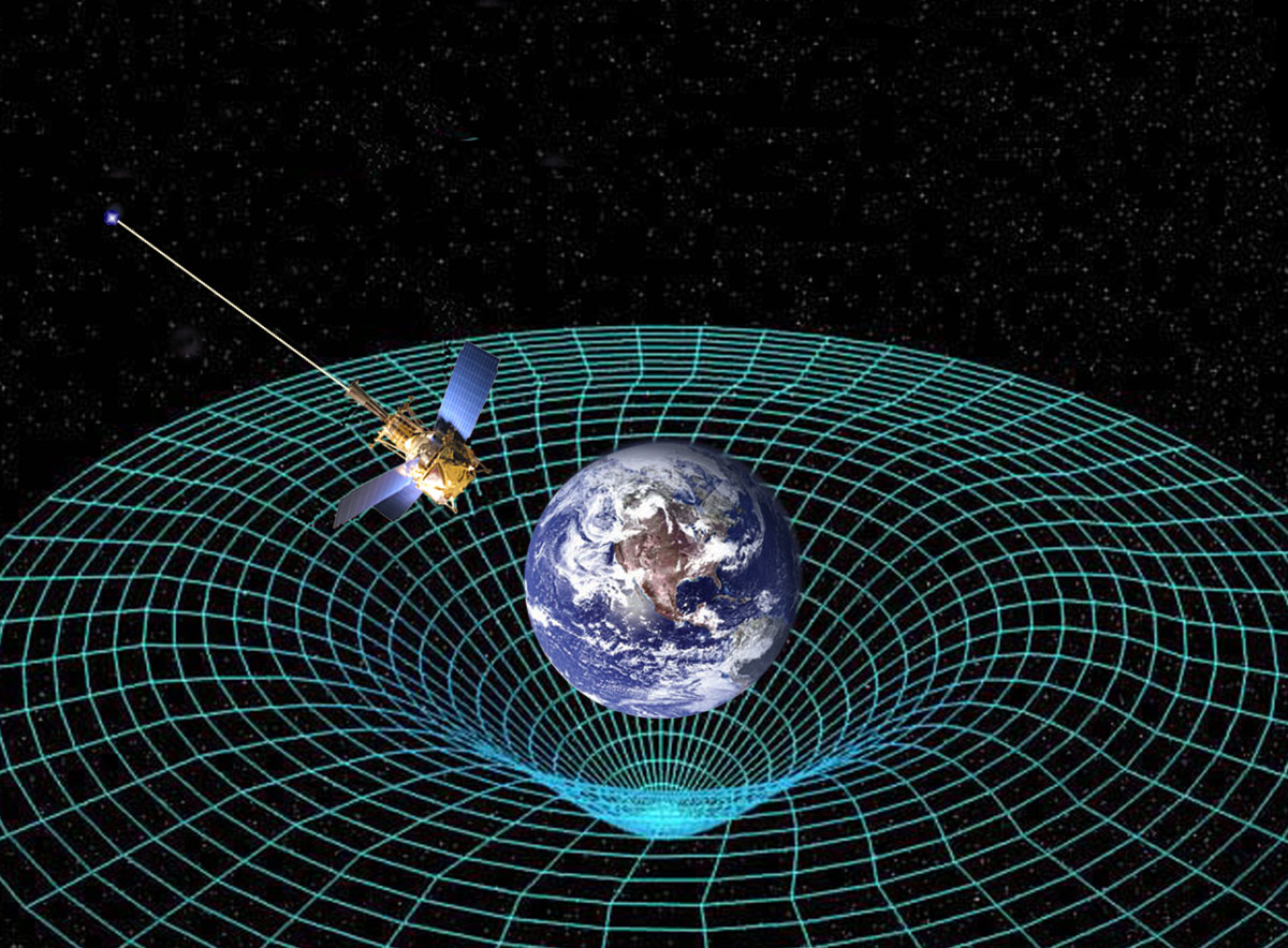 Gravity Probe B orbited Earth to measure spacetime. If gravity is like ...