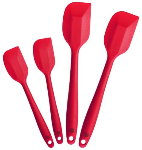 Starpack Silicone Spatula Set - Red