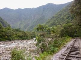 w drodze do Aguas Calientes