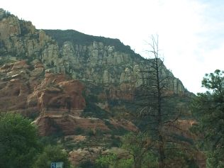 Cliffs above Cave Springs