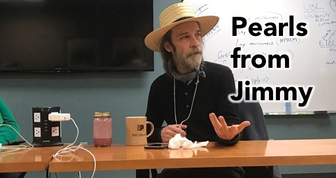 Pearls from Jimmy