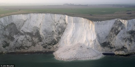 cliffs of dover.erosion