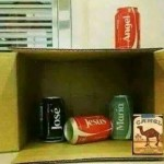 coke can camel nativity