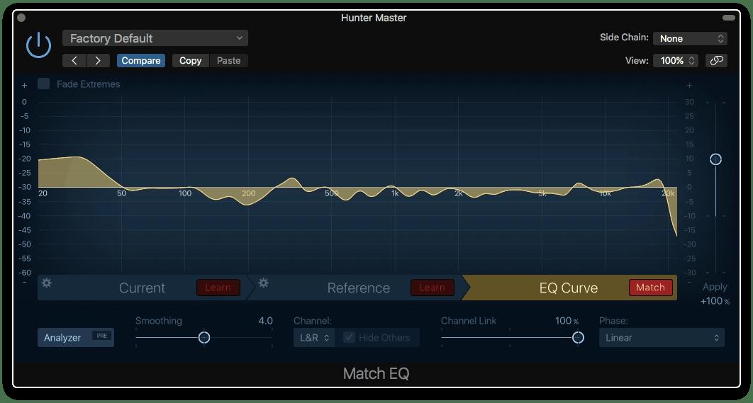 Logic Pro X Match EQ Plugin