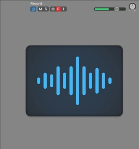 Logic Pro X Track Header Record Enabled