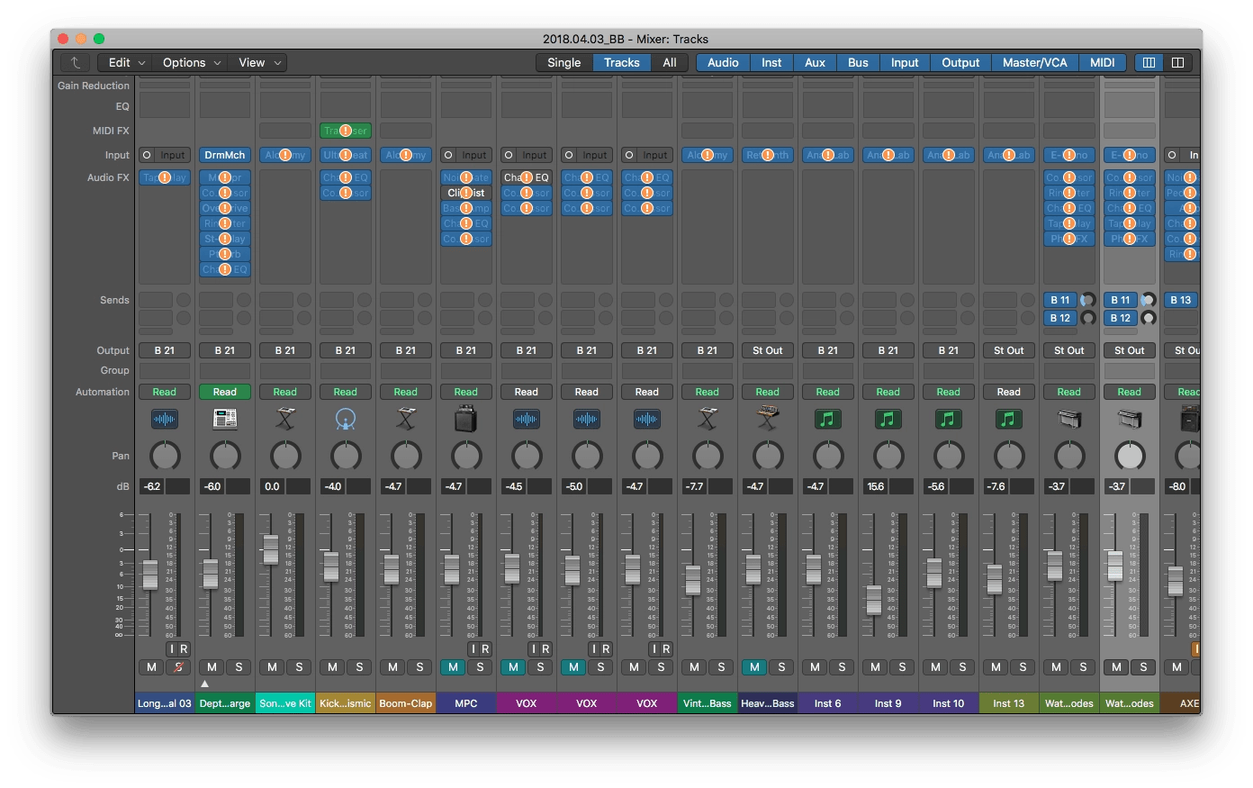 Logic Pro X Deactivated Core Audio