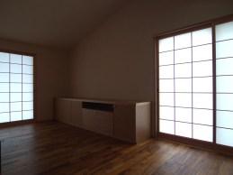平屋の住宅bedroom